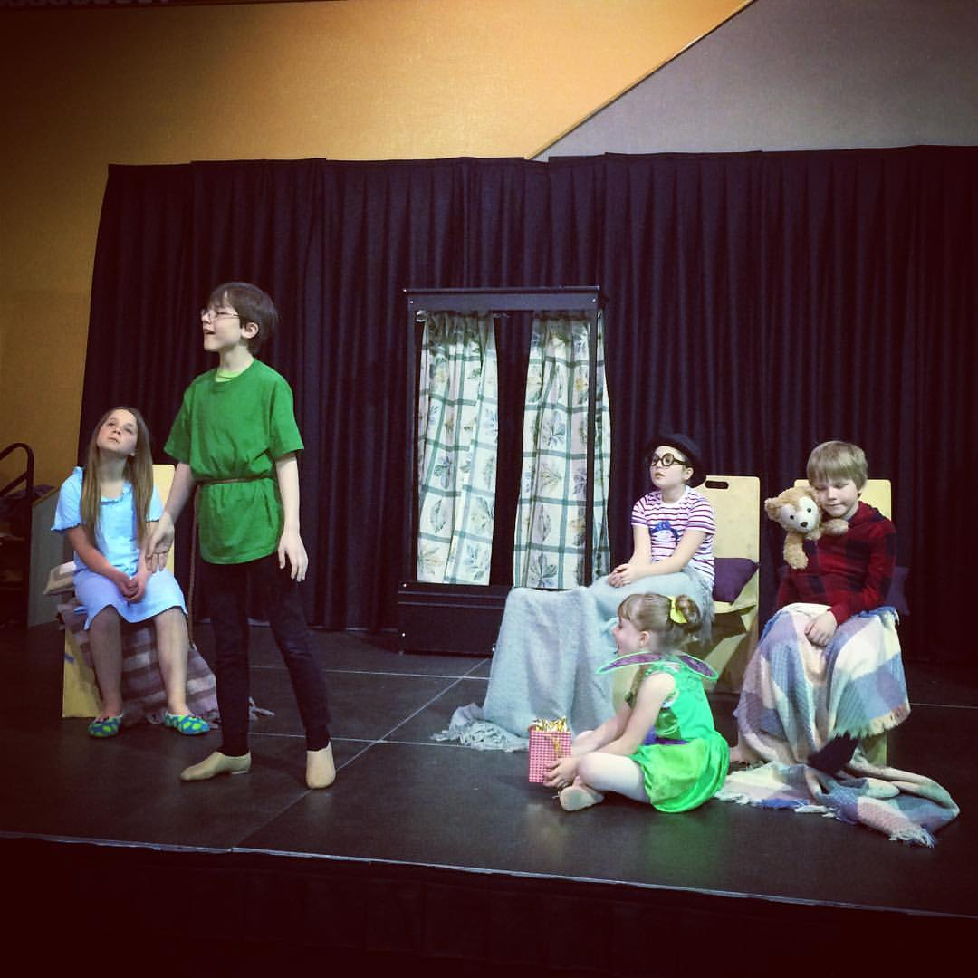 Peter Pan Drama Program
