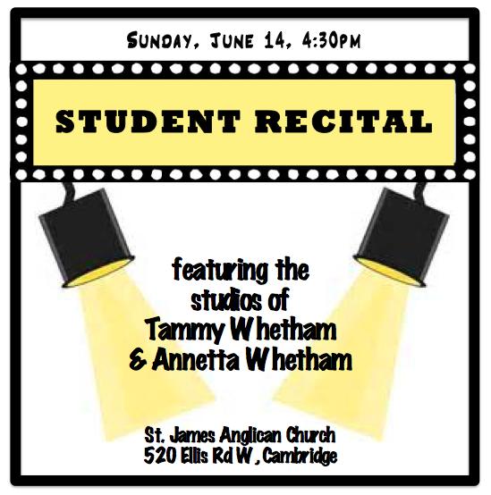 Student Recital 2015